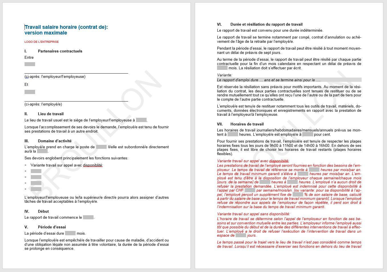 Download contrat de travail salaire horaire upsa agvs - Contrat de professionnalisation salaire grille ...