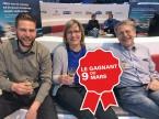 (v.l.) Stefan, Erika und David Schälchli Garage Village AG, Basadingen.