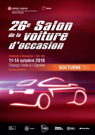 26ème Salon De La Voiture Doccasion 11 14 Octobre 2018 Upsa